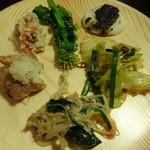旬菜食健 ひな野 - 弐の皿・・・野菜中心