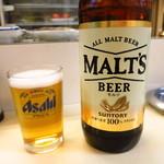 立飲み 天下 - ビール430円
