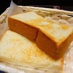 ハースブラウン - トースト