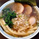 つけ麺 弥七  - 秋刀魚煮干中華そば(醤油)2014年1月