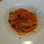 23788528 - スパゲッティーニ しらすのピリ辛トマトソース(ハーフサイズ)