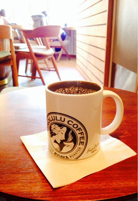 ホノルルコーヒー 麻布十番店 - KONA BLEND COFFEE コナ ブレンドコーヒー