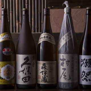 旨い肴は旨い酒とご一緒に。つまみに合う日本酒あり〼。