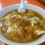 百番 - 醤肉蓮麺(ジャンローレーメン)