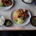 喫茶MG - 料理写真:チキンカツ定食