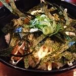 らーめん 菜菜 - セットの豚マヨ丼