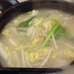 23795109 - きりっとしょっぱいスープで野菜が甘い!