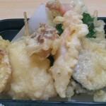 丸正寿司 - ボリュームな天ぷら