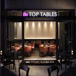 トップテーブル - テラスもあって開放的です