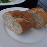 HACHINOJO food・wine - パン。お代わりがほしかった