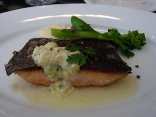 HACHINOJO food・wine - メーンの魚は、サーモンでした