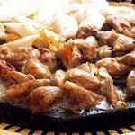 鶏料理専門店みやま本舗 - 料理写真:みやま本舗自慢の桜島溶岩焼!目でも・味でも楽しめます!!