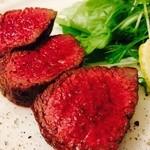 うみひこ やまひこ - 国産牛 塊炭焼きステーキ