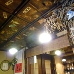 23798966 - 天井には千社札がいっぱい