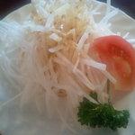 SEAK CAFE - ランチセットのサラダ
