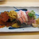 阿波水産 - こぼれ寿司