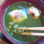 虎屋菓寮 御殿場店 - 白小豆の煎茶汁粉