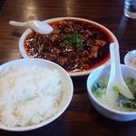 23801379 - 麻婆豆腐定食 700円