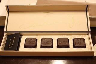 横浜うかい亭 - チョコレート4個入り