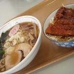 幸陽の杜 レストラン - 料理写真:ラーメン+ミニカツ丼セット\1000(Tax5%)