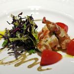 リストランティーノ ルベロ - オマール海老のカタラーナ、蟹味噌のソース