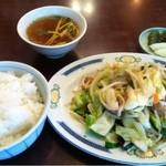 23804631 - 肉野菜炒めライス