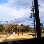 ティーズスタイル - 今回は窓側の席♪画像向かって右側には鶴見緑地の塔が見えます('14.01月にて)