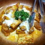 23805609 - 鶏とインカのめざめトマトソースチーズ焼