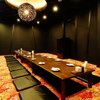宴会個室は最大35名様までOK