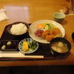 からと食堂 - 料理写真:蠣フライ定食