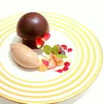 カファレル - ドルチェ お皿盛り -フンゲッティ チョコラッタ- (840円) '13 12月中旬
