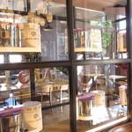 バニラビーンズ - カフェスペースもあります。