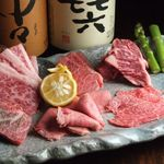 小杉ホルモン - 絶対食べて欲しい!7種盛り!!厳選のお肉7種類が全て味わえる人気No.1のセットメニュー!!