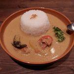 ハコノカフェ - ココナッツカレー