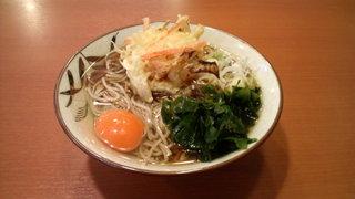 鳥園 アメ横店 - 天玉そば(380円)