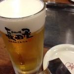 お好み焼 長田屋 - 生ビール大