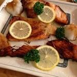 とんかつ 安右衛門 - 鮭釜味噌漬け