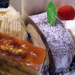 2382388 - 菓人 ケーキ4種