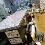 立喰い寿司 七幸 - 立ち食い