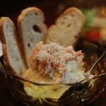 貝と海老そして蟹 - ポテトサラダ