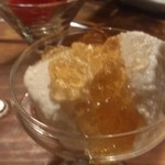 味とく家 - 玉ねぎのムース 美味出汁ジュレ 素晴らしい料理でしたがピントが・・・