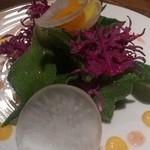 味とく家 - 本日のサラダ