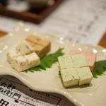 酒仙 しんばし光寿 - クリームチーズ4種