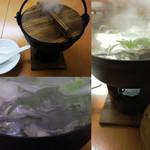 くらちゃん - 新メニューの カキ鍋☆彡プリプリの新鮮な牡蠣が いっぱい!!