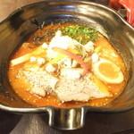 吉山商店 - 共和国限定冬の麺 焙煎辛みそspiceGARAKUverⅢ 900円 【 2014年1月 】