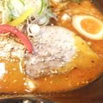 吉山商店 - 共和国限定冬の麺 焙煎辛みそspiceGARAKUverⅢ 900円 + 大盛100円のアップ 1 【 2014年1月 】