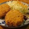 おでん千石 - 料理写真:450えん『北上コロッケ』(2個)2013.12