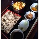 蕎川庵 高瀬 - 料理写真:そばランチ 800円 2014.1