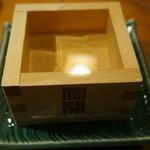 おでん千石 - 『樽酒』2013.12