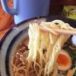 魚介ラーメン武蔵 - 麺